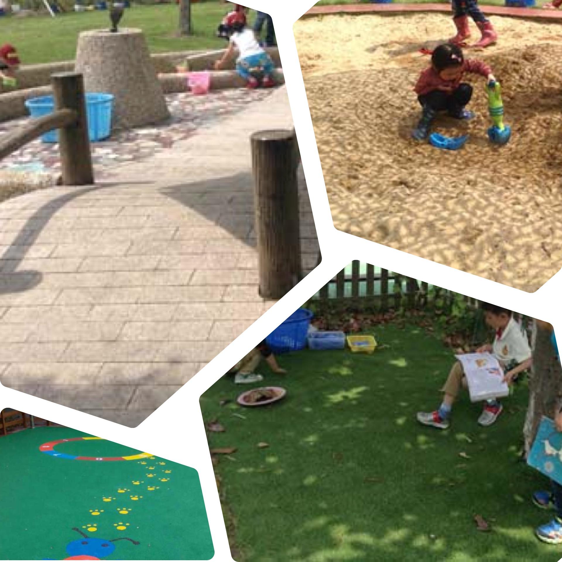 户外环境 | 改变户外环境,丰富投放材料,让幼儿嗨起来