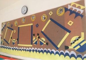 主题墙框架&作品栏装饰,新学期用这些就够了!