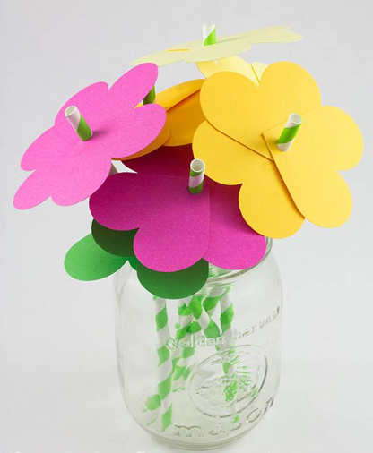 教师节手工 | 多款立体花朵贺卡,给老师送上专属于你的祝福吧