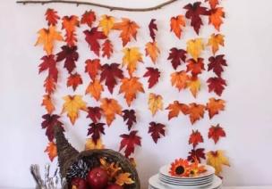 吊饰 | 秋日落叶吊饰这样挂,让孩子更懂秋天!