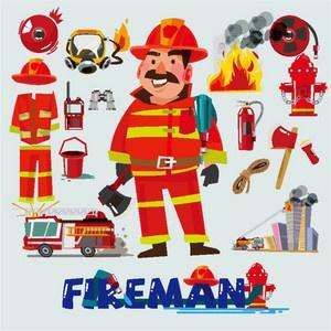 美国幼儿园消防安全主题活动 | 《可爱的消防员》