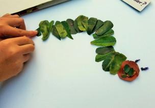 美工 | 告別老套,不一樣的樹葉剪貼畫在這里!