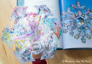 大班艺术领域美术活动 | 剪纸手工《雪花》