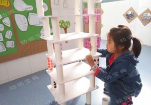自制玩教具 | 益智玩具:瘋狂的高樓
