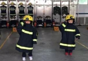 感恩主题活动方案 |《感恩消防员战士》