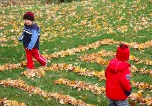 树叶游戏 | 听说机智的幼师,在孩子玩树叶时会问这些问题…