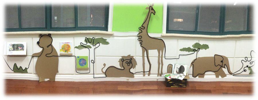 环创指导   让主题墙可看、可讲、可玩