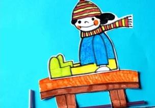 冬季手工 | 感受冬天,快乐的滑雪手工向你滑来~