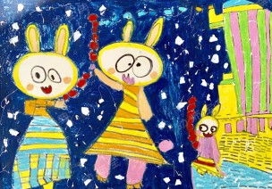 大班藝術領域美術活動 | 糖葫蘆~酸酸甜甜的糖葫蘆~