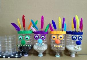 自制玩教具 | 科探区必备,超好玩的小怪兽净水器,自己滤水!