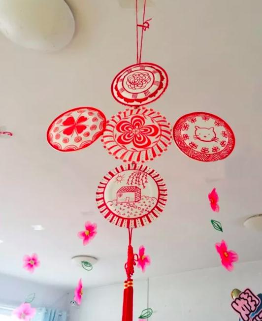 新年环创 | 从大厅到主题墙,这里的新年环创年味最浓!