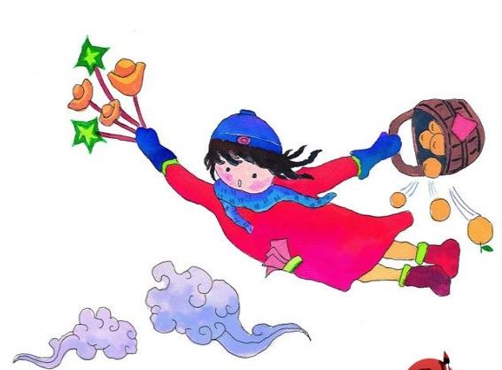 中班语言领域   诗歌《过新年》