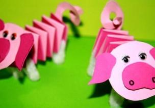 新年手工 | 福瑞吉祥猪,这个新年不能错过!