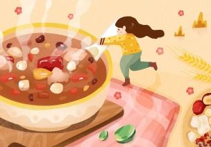 臘八節 | 習俗+方案,讓孩子過一個甜甜的臘八~