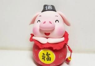 猪猪手工 | 纸粘土篇:胖嘟嘟粉嫩嫩,捏出来的小猪更带感!
