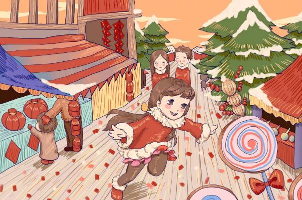 春節活動方案 | 幼兒園里的義賣年貨大集,將愛溫暖傳遞