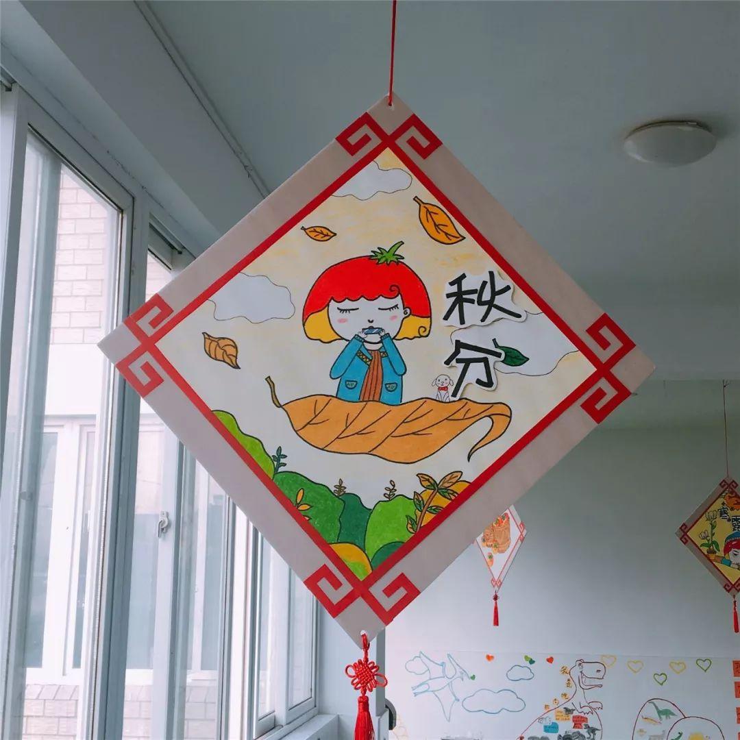 吊飾   特色環創,二十四節氣走廊吊飾,可愛中國味