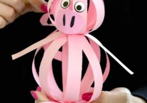 猪猪手工 | 陷入粉嫩的猪猪海洋~一个比一个萌!