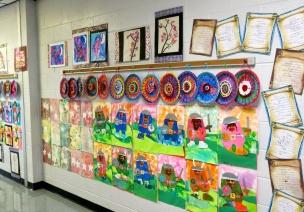 主题墙面+作品墙 | 你的班级在春天一定要美起来!