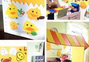 环创 | 春天的脚步,从幼儿园教室里走来~