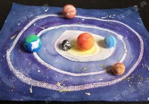 创意美术   粘土+绘画,简单轻松又出效果,孩子秒变艺术家!