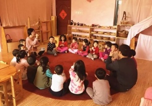 華德福學校的晨圈活動,打開充滿愛的一天