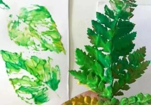 手工 | 这10个让孩子认识自然的创作,出门就能找到材料!