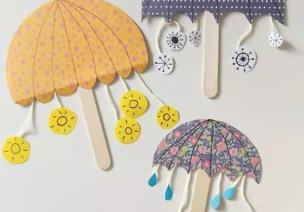 手工 | 各式各样的雨伞创意,就等下雨天
