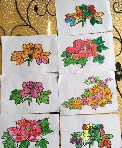 绘画   正谷雨,牡丹期,感受花中王的美