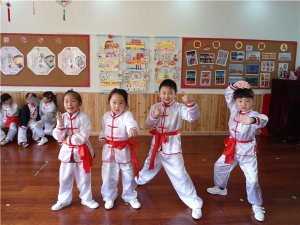 小班健康领域体育活动 |《中国功夫》
