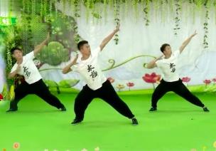 舞蹈视频   武术操《黄种人》