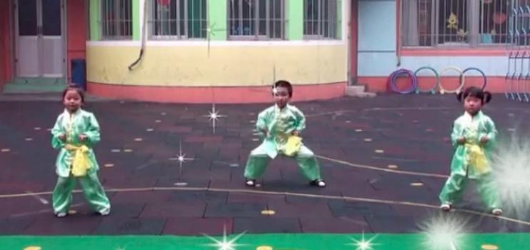 舞蹈视频   武术操《男儿当自强》
