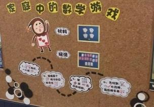 环创+活动 | 这所幼儿园把数学特色玩的太溜了!