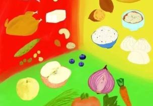食育 | 营养三色法:不同颜色的食物有不同的力量~