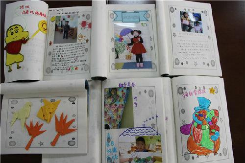 你們班的成長檔案只是孩子的作品集?