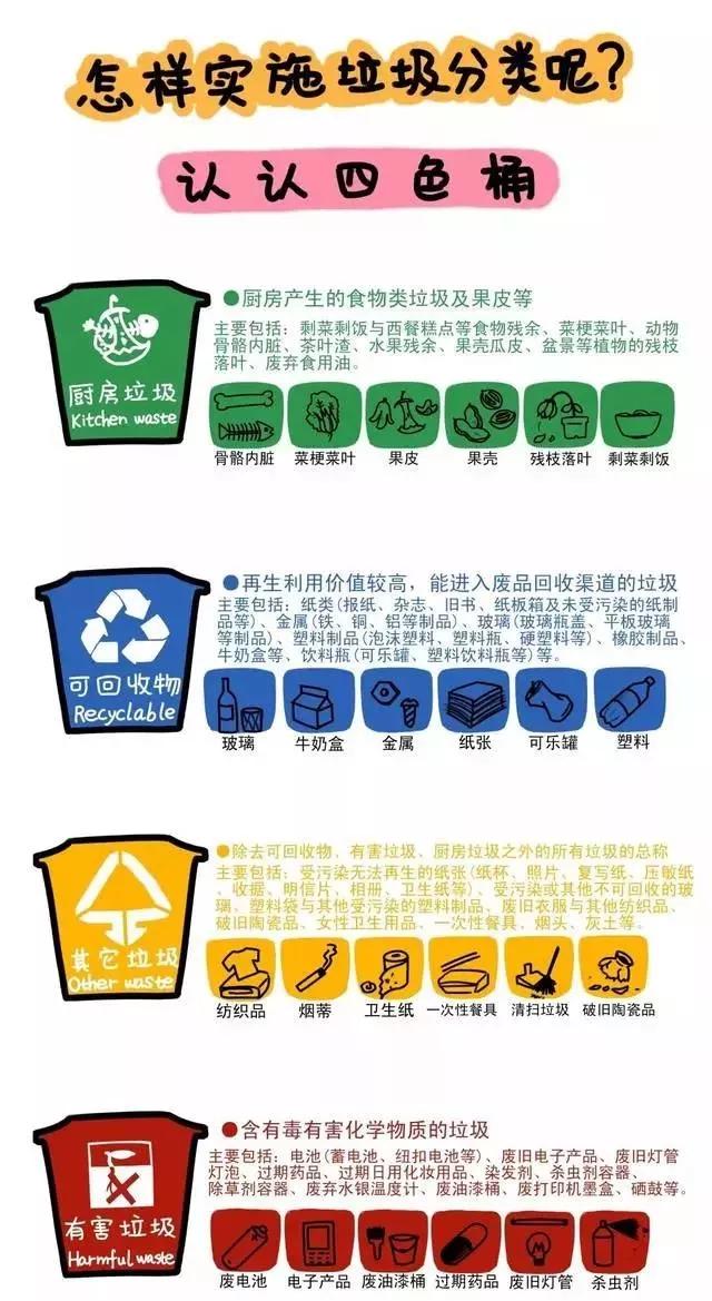 环保主题活动 | 垃圾分类,我们在行动