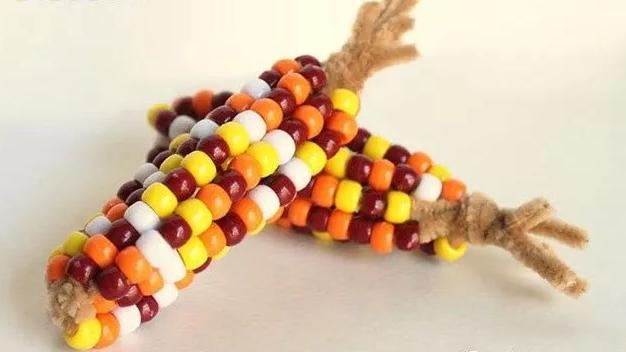 手工 | 香甜的玉米已经成熟啦,就等你来摘!