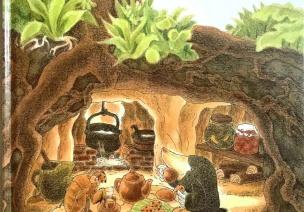 绘本欣赏 |《小鼹鼠和蝉宝宝》
