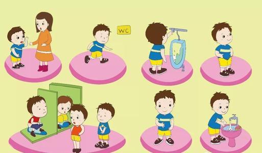 中大班常规儿歌 | 让孩子轻松记住入厕盥洗规则