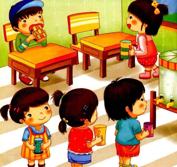 小班常规儿歌 | 帮你轻松建立幼儿喝水常规
