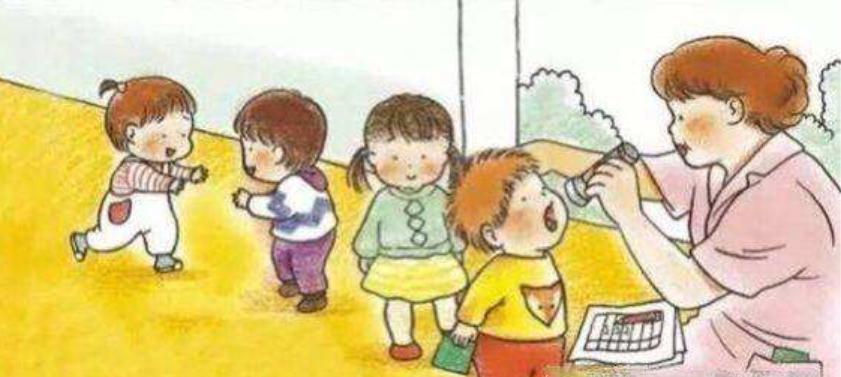 中大班常规儿歌   轻松培养孩子入园早操的规则与安全意识