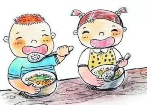 中大班常规儿歌   让有趣的小儿歌来培养孩子进餐规则