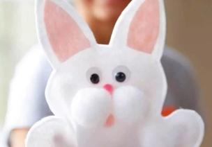 手工 | 中秋�的兔子,你�可以朝�|方�^�m�w速前�M�@�油妫�