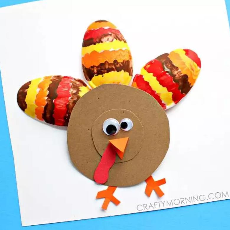 感恩节手工 | 感恩节怎能少得了火鸡,都备好啦~