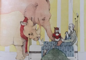 绘本欣赏 | 《阿莫的生病日》,教育孩子感恩友情