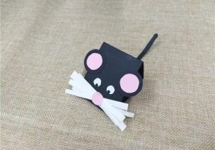 新年手工 | 做一只可爱的老鼠,一起叩响新年的钟声