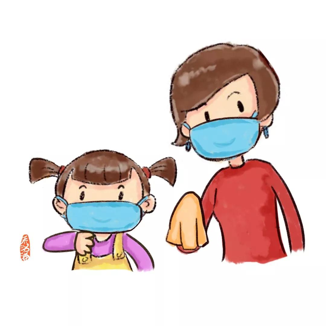 孩子发热、咳嗽去医院?先别急!看完这三条再行动