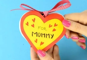 妇女节手工 | 做个爱心贺卡,送伟大的小仙女们~
