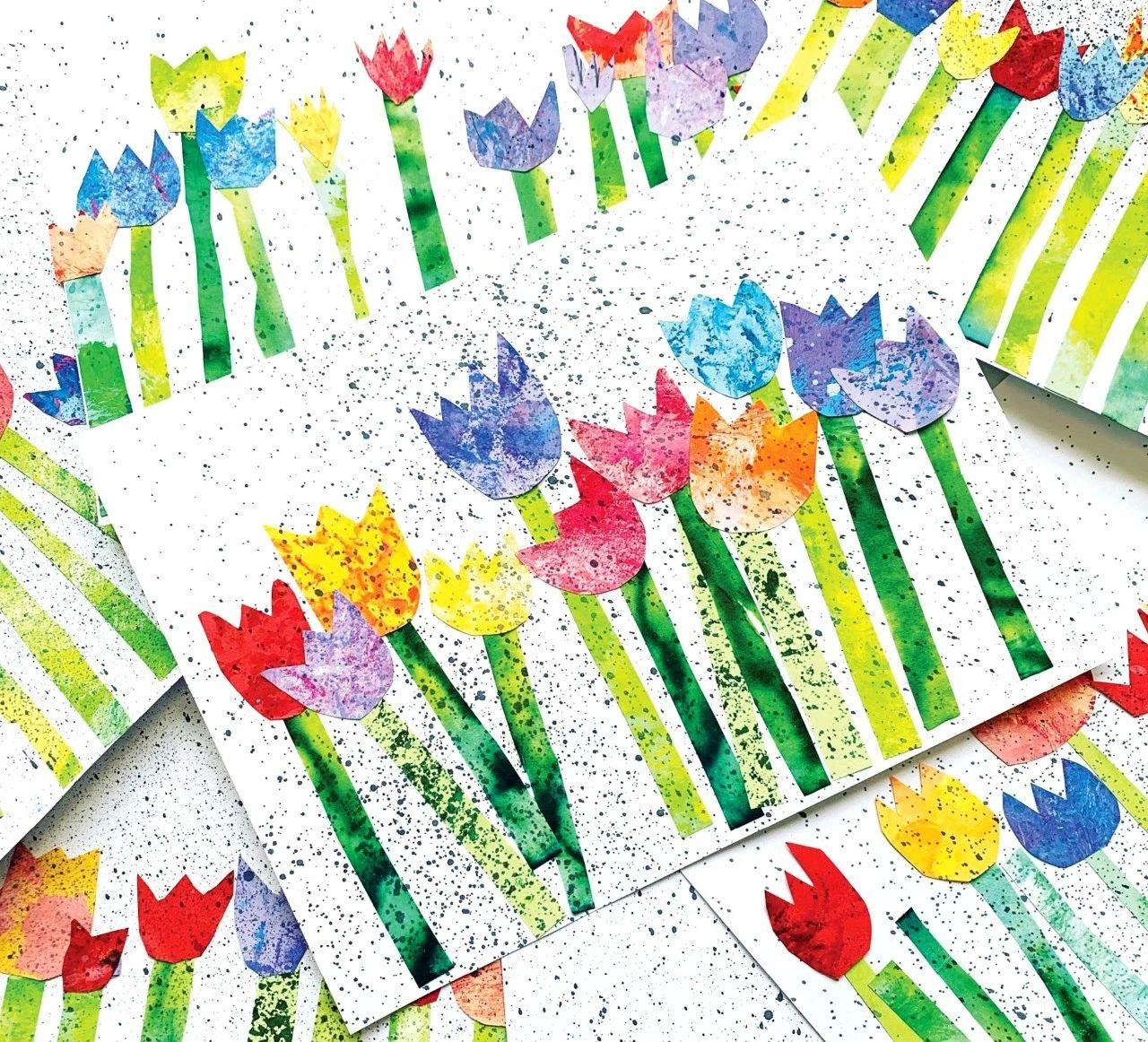 手工 | 千姿百态的春天创意,看这里!