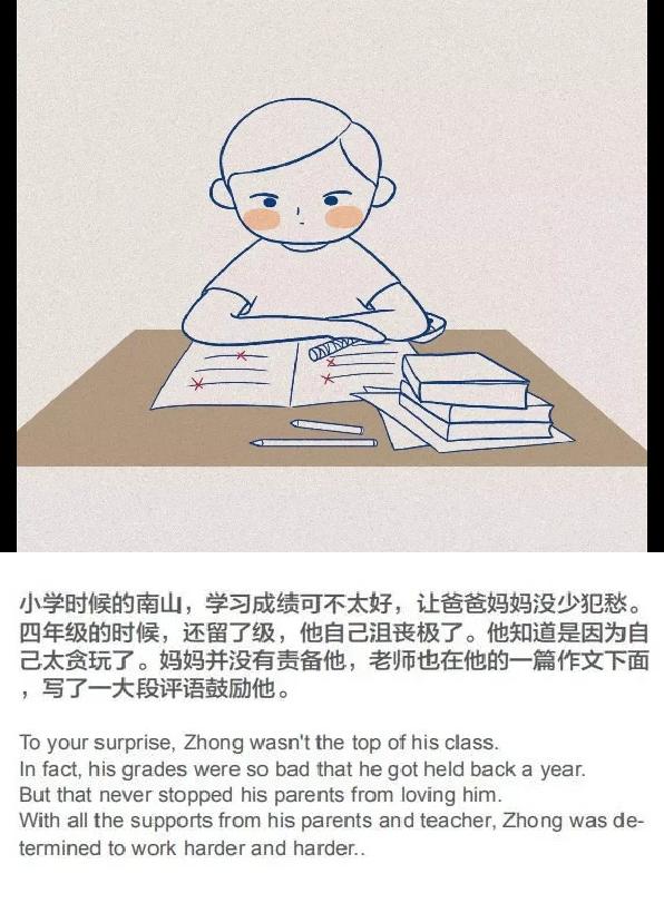 故事欣赏 | 《钟南山爷爷的故事》